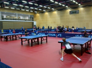 ITTF Hopes week 2012